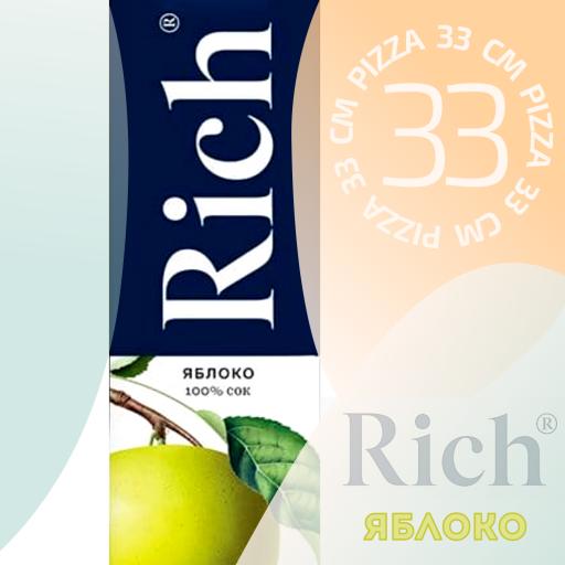 Rich Яблочный Сок 1л.
